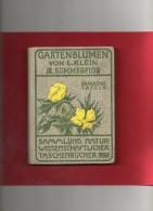 Petit Livre  ( Gartenblumen ) Beaucoup De Pages En Couleurs - Nature