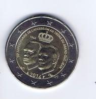 Lussemburgo - 2 Euro Commemorativo 2014 - Incoronazione Granduca - Lussemburgo