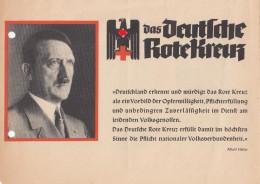 157, Werbeflyer Für Das Rotokreuz Mit Aufnahme Antrag Sehr Selten ! - 1939-45