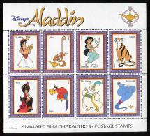 (lot 1) Guyane ** Petite Feuille - Aladin De Disney - - Disney