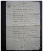 1807 Roubia (Vienne)  Arrondissement De Narbonne Quittance Anne Brunet à Jean Crouzat (papier Filigrané) - Manuscrits