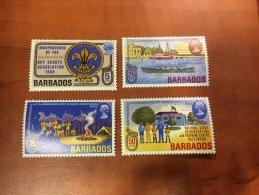Barbados Y&T 300/3 **/MNH - Barbades (1966-...)