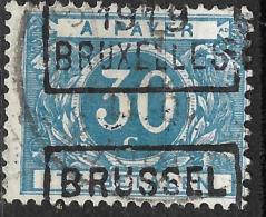6Wz-631: N° TX15A: BRUSSEL 1919 BRUXELLES : Type C - Préoblitérés
