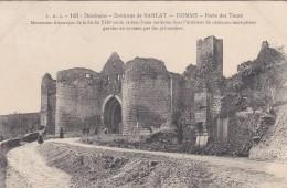 22Q - 24 - Domme - Dordogne - Environs De Sarlat - Porte Des Tours - N° 193 - Sarlat La Caneda