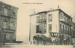 A-16 5374 :  LA DILIGENCE A VIGO   Carte Précurseur - Espagne