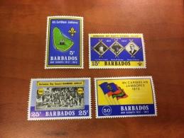 Barbados Y&T 349/52 **/MNH - Barbades (1966-...)
