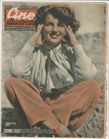 1950 Italian Magazine CORINNE CALVET  On Cover - Cinema