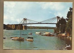 Jolie CP 22 Lézardrieux Le Pont - Rivière Le Trieux Bateau ... - Ed Jack 1227 - Cp Pas écrite - France
