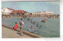 Angleterre - FELIXSTOWE - BOATINGS LAKE  - The Pleasant Suffolk Resort Of Felixstowe ... - CPSM Couleur - Angleterre