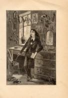 Poesia IL GIOVINETTO Di GIUSEPPE GIUSTI Con 3 FOTOINCISIONI ORIGINALI 1845 - OTTIMO STATO - Poesie