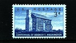 UNITED STATES/USA - 1956  BOOKER T. WASHINGTON  MINT NH - Stati Uniti