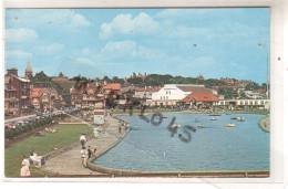 Angleterre - FELIXSTOWE - PIER PAVILION AND BOATING LAKE - A Pleasant Part Of Felixstowe  ... - CPSM Couleur - Non Classés