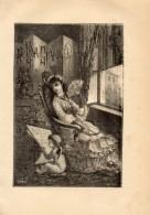 Poesia AD UNA GIOVINETTA Di GIUSEPPE GIUSTI Con 1 FOTOINCISIONE ORIGINALE 1843 - OTTIMO STATO - Libri, Riviste, Fumetti