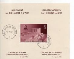 Belgique BF 8 Oblitere 1938 - Blocks & Kleinbögen 1924-1960