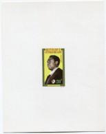 CENTRAFRIQUE EPREUVE DE LUXE DU N°22  20F. PRESIDENT DAVID DACKO - Centrafricaine (République)