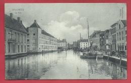 Mechelen / Malines - La Dyle - Binnenschipen - 1907 ( Verso Zien ) - Malines