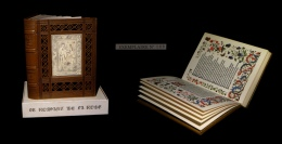 [MINIATURES ENLUMINURES GRADASSI] LORRIS / HUBERT (André, Ill. De) -  Le Romant [Roman] De La Rose. - Livres, BD, Revues