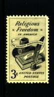 UNITED STATES/USA - 1957  RELIGIOUS FREEDOM  MINT NH - Stati Uniti