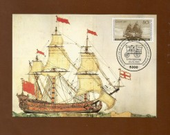 BRD 1983  Mi.Nr. 1180 , Einwanderung Der Ersten Deutschen In Amerika - Maximum Karte - Stempel  Bonn 05.05.1983 - [7] Repubblica Federale