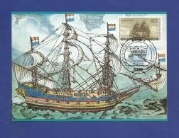 Mi.Nr.1180 , Einwanderung Der Ersten Deutschen In Amerika - Maximum Karte - Stempel  Bonn 05.05.1983 - [7] République Fédérale