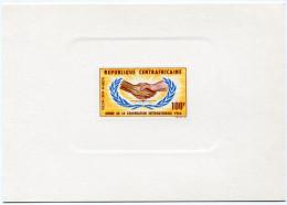 CENTRAFRIQUE EPREUVE DE LUXE DU PA 29 ANNEE DE LA COOPERATION INTERNATIONALE - Centrafricaine (République)