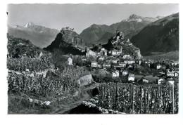 Sion, Tourbillon Et Valere, Militär/Feldpost-Artillerieschulen-Stempel, 1947 - VS Valais