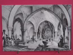 Carte Très Peu Courante - Iran - Baths Of Khosrau Agha - Repro De Gravure Ancienne - Scans Recto-verso - Iran