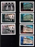 Bosnia And Herzegovina Muslim Gov´t MNH Scott #210-#216 Set Of 7 Different Views Main Post Office, Sarajevo - Bosnie-Herzegovine