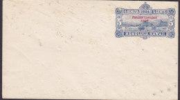 Hawaii Postal Stationery Ganzsache Entier 5 C. Honolulu Hawaii Overprinted PROVISIONAL GOVERNMENT 1898 Unused (2 Scans) - Hawaii