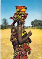 AFRIQUE NOIRE Black Africa -  Joli Petit Lot De 8 CPSM CPM : Maman Et Son Enfant - Grand Format ( Mère ) Toutes Scannées - Sin Clasificación