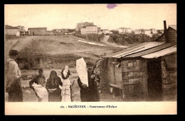 CPA ANCIENNE- GMACÉDOINE- ENTERREMENT D'UN ENFANT EN TRES GROS PLAN- - Mazedonien