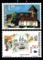 Bosnia And Herzegovina Muslim Gov´t MNH Scott #369-#370 Set Of 2 Vranduk, Kraljeva Sutjeska - Bosnie-Herzegovine