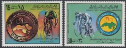 Libya 1979 World Junior Cycling Championships. Mi 765-766 MNH - Ciclismo