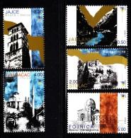 Bosnia And Herzegovina Muslim Gov´t MNH Scott #463-#467 Set Of 5 Cities: Jajce, Jablanica, Stolac, Gradacac, Fojnica - Bosnie-Herzegovine