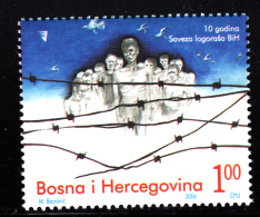 Bosnia And Herzegovina Muslim Gov´t MNH Scott #539 1m Prisoners Of War Association, 10th Anniversary - Bosnie-Herzegovine