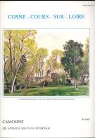 COSNE COURS SUR LOIRE CAMOSINE Annales Du Pays Nivernais N°61 62 Morvan Nièvre Bourgogne Franche Comté - Bourgogne