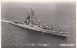 CROISEUR COLBERT  PHOTO MARIUS TOULON - Warships