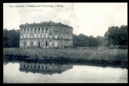 Cpa De Belgique Bon Secours Château De L' Ermitage , L' étang    LIOB25 - Belgique