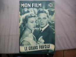 MON FILM N° 427 DU 27-10-54 NICOLE COURCEL ET MARC CASSOT DANS LE GRAND PAVOIS - Cinema