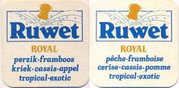 #101-100 Viltje Cidre Ruwet - Sous-bocks