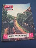 Vie Du Rail 1954 454 BERLAIMONT MARTIGNY LEUZE AUBENTON RUMIGNY LIART ROUVROY SEDAN LUMES L'éCHELLE LE QUESNOY AULNOYE A - Livres, BD, Revues