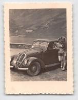 """04123 """"FIAT 1500B - TORINO"""" AUTO, ANIMATA, FOTOGRAFIA ORIGINALE - Automobili"""