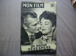 MON FILM N° 372 DU 7-10-53 LAURENCE OLIVIER ET JENNIFER JONES DANS UN AMOUR DESESPERE - Cinema