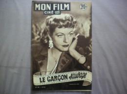 MON FILM N° 282 DU 16-1-52 MADELEINE ROBINSON DANS LE GARCON SAUVAGE - Cinema
