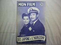 MON FILM N° 357 DU 24-6-53 ESTHER WILLIAMS ET BARRY SULLIVAN DANS DES JUPONS A L'HORIZON - Cinema