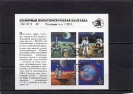 URSS 1989 O - Blocks & Sheetlets & Panes