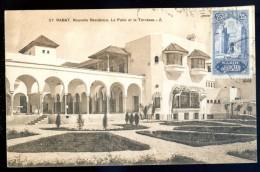 Cpa Du Maroc Rabat Nouvelle Résidence . Le Patio Et La Terrasse    LIOB26 - Rabat