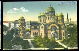 Cpa De Lettonie Riga Die Garnisonkirche   LIOB26 - Lettonie