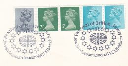 1985 London GB Stamps COVER EVENT Pmk  JEWISH MUSEUM FESTIVAL Judaica Jew - Jewish