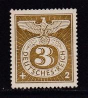DEUTSCHES REICH, 1943, Unused (no Glue) Stamp(s), Reichs Adler, MI 830, #16169 , - Germany